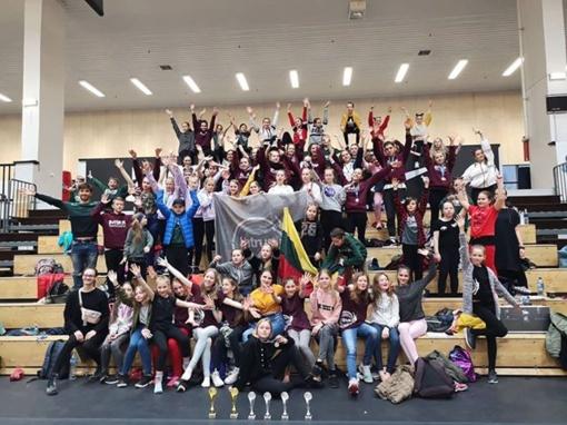 Anykščių šokėjai puikiai pasirodė Estijoje vykusiame Šiaurės Europos šokių čempionate