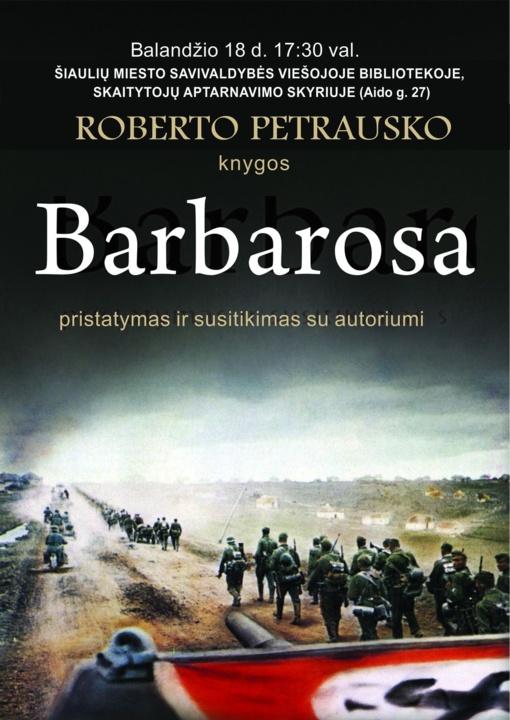 Kviečiame į susitikimą su rašytoju Robertu Petrausku!