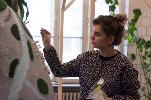 Unikalūs menininkės Jolitos Vaitkutės margučiai jau Šiauliuose
