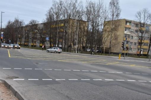 Naujas ženklinimas ir lengvesnis parkavimas judriausiose miesto gatvėse