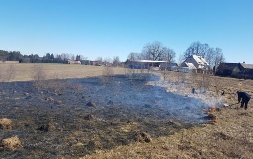 Kovai su žolės degintojais organizuojami reidai
