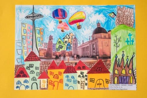 """Kviečia į vaikų kūrybos parodą – """"Mano miestas"""""""