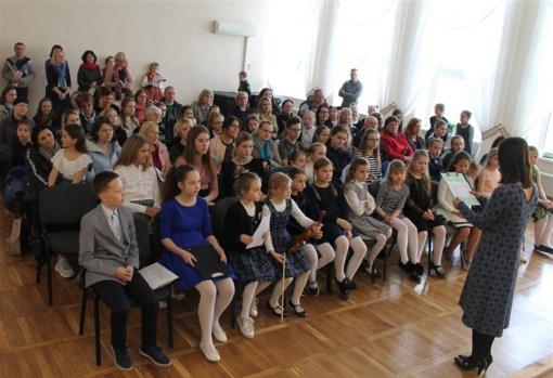 """Muzikos mokyklos renginys """"Muzikuoju su klasės draugu"""" – bendra miesto mokinių ir mokytojų sėkmė"""