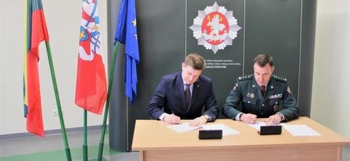 Įtvirtintas Vilniaus pasienio rinktinės ir Šalčininkų rajono savivaldybės bendradarbiavimas