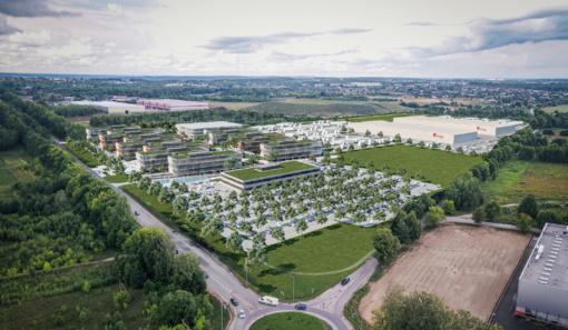 """Vilniuje iškils """"Girteka Campus"""" miestelis, į kurį bus investuota apie 60 mln. eurų"""