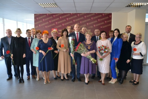 Pirmasis išrinktos naujos Vilniaus rajono savivaldybės tarybos posėdis