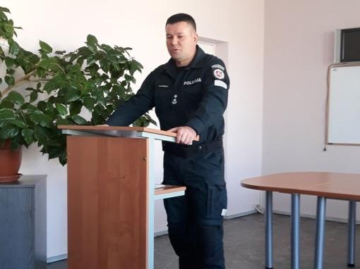 Šalčininkų rajono policijos komisariate paskirtas naujas vadovas