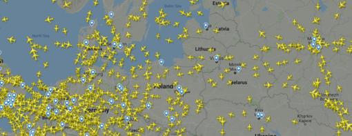 Oro erdvė – ne guminė: kaip joje telpa vis daugiau lėktuvų?