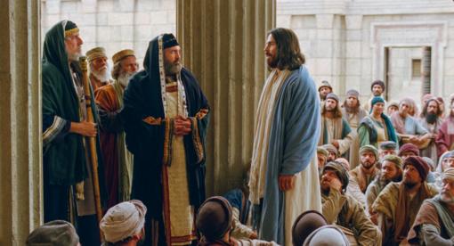 Didžioji Velykų savaitė. Antradienis – Jėzus mėginamas šventykloje religinių grupių ir lyderių