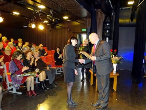 Apdovanoti kultūros darbuotojai