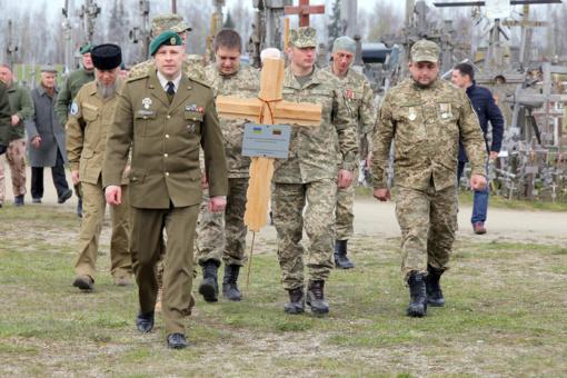 Kryžių kalne bus pastatytas jubiliejinis – 20-asis – kryžius už Ukrainos laisvę kovojantiems kariams