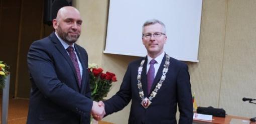 Prisiekusi naujoji taryba slaptu balsavimu išsirinko naująjį vicemerą