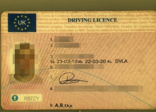 Kalvarijos pasieniečiams latvis pateikė suklastototą vairuotojo pažymėjimą