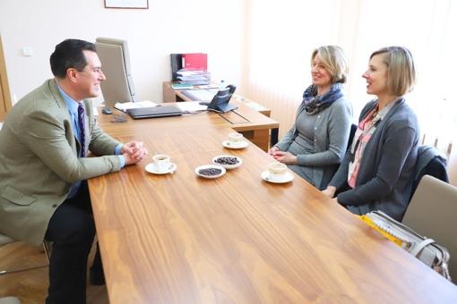 Susitikimas su Kazickų šeimos fondo atstovėmis