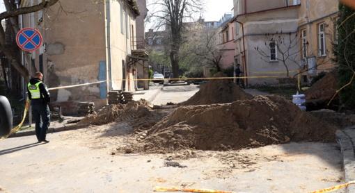 Vilniaus centre rastas sprogmuo nukenksmintas ir išvežtas sunaikinti