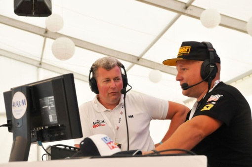 Dvidešimtosios lenktynės su mikrofonu