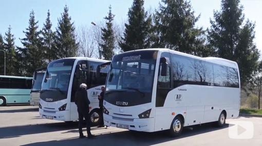 Keleivius vežios dar du nauji autobusai