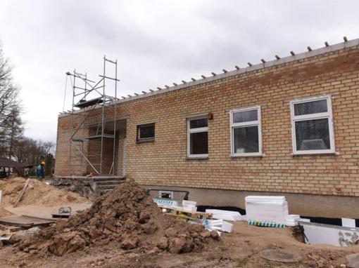 Vyksta patalpų, kuriose bus įkurti socialinės globos namai, rekonstravimo darbai