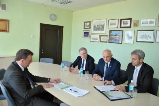 Meras Vitalijus Gailius susitiko su šilumos tiekimo vadovais