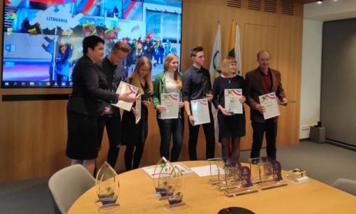 Lietuvos tautinis Olimpinis komitetas pagerbė Ignalinos kultūros ir sporto centro darbuotojus