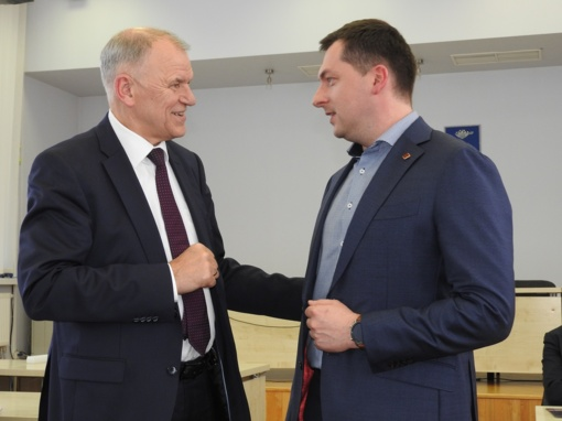 Europos Sąjungos komisaro vizitas Ignalinoje