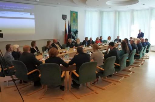 Įvyko pirmasis aštuntos kadencijos Visagino savivaldybės tarybos posėdis