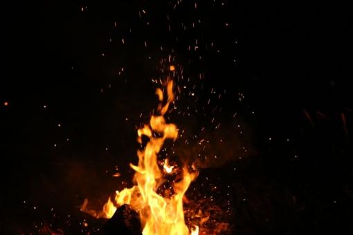 Nukentėjusiais nuo gaisro bus pasirūpinta