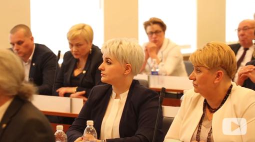 Vyko pirmasis naujos kadencijos Savivaldybės tarybos posėdis