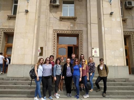 Delegacija iš Raseinių rajono dalyvavo tarptautiniuose mokymuose Gruzijoje