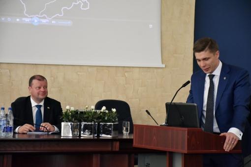 Ministro Pirmininko Sauliaus Skvernelio vizitas į Jonavą