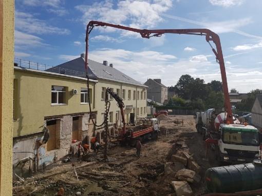 """Įgyvendinamas projektas """"Kalvarijos savivaldybės viešosios bibliotekos patalpų pritaikymas bendruomenės poreikiams"""""""