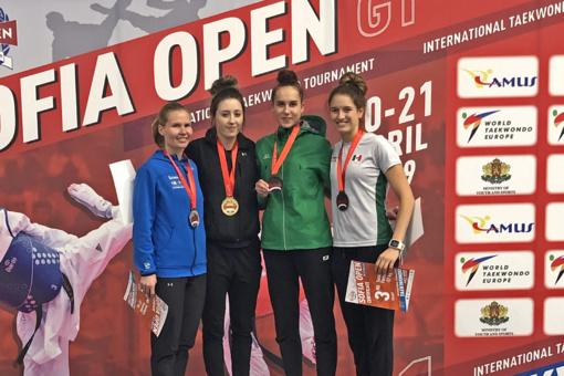 Iš Sofijos – su bronzos medaliu