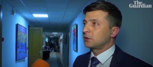 Lietuvoje balsavę ukrainiečiai prezidento rinkimuose palaikė V. Zelenskį