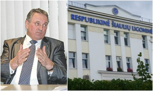 Buvęs Respublikinės Šiaulių ligoninės direktorius lieka nuteistas dėl kyšininkavimo