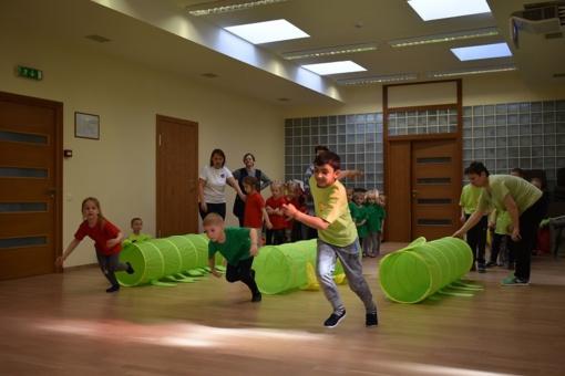 """""""Per žaidimą ir sportą stipriname sveikatą"""""""