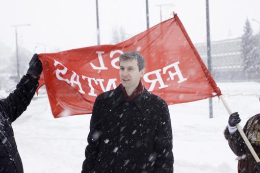 Prokuratūra: suėmimas A. Paleckiui pratęstas dar trims mėnesiams