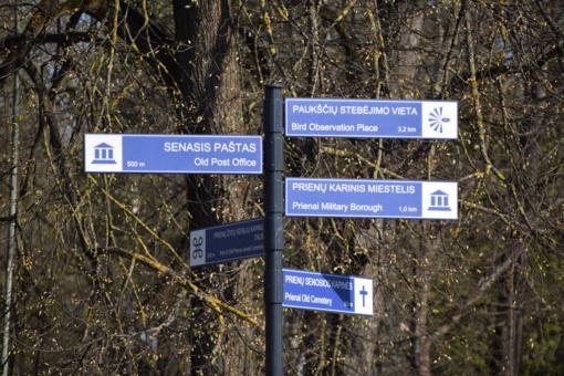 Savivaldybės kultūros paveldo ir kitų lankytinų vietų kryptis nurodys nauji ženklai