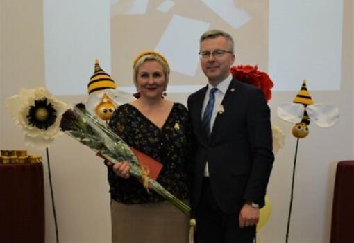 Metų bibliotekininkė – Laima Pernarauskienė