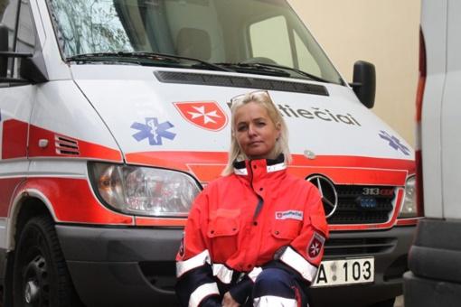 Maltiečių pirmosios pagalbos programų vadovė apie sunkius savo likimo smūgius ir begalinį norą padėti kitiems