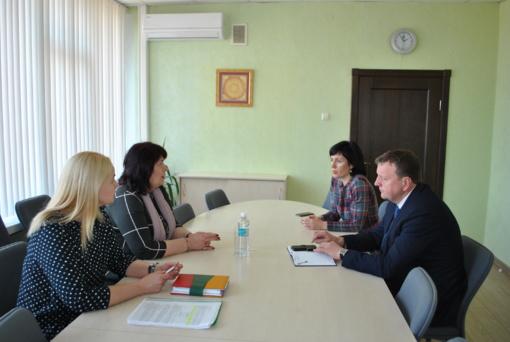 Susitikimas su Šiaulių apskrities Vyriausybės atstovo tarnyba