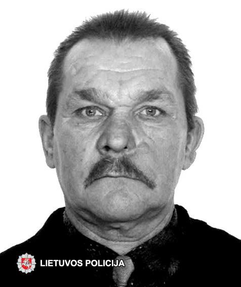 Ieškomas dingęs be žinios Juozas Okunevičius