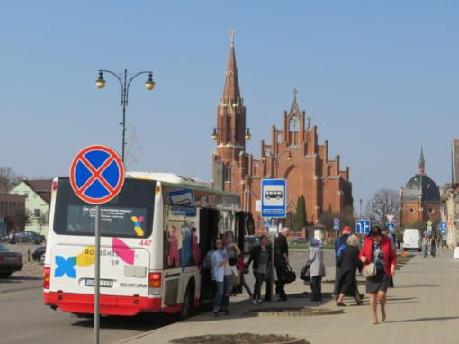 Ar per šventes rokiškėnai viešuoju transportu važiuos erdviau?