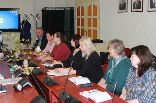 Vyko Pagėgių savivaldybės mokyklų vadovų pasitarimas