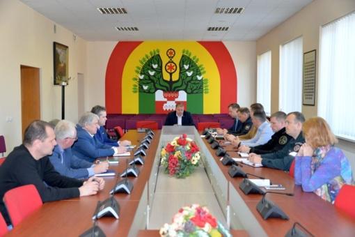 Sušauktas Ekstremaliųjų situacijų komisijos posėdis