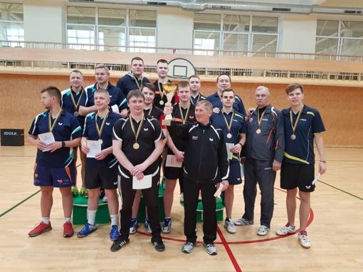 Lietuvos stalo teniso komandinio čempionato finalas