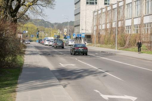 Lukiškių skersgatvyje – planuoti vienpusio eismo pokyčiai