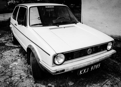 Raseiniuose pavogtas automobilis rastas Radviliškio rajone