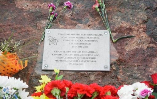 Balandžio 26 d. – Černobylio katastrofos metinės
