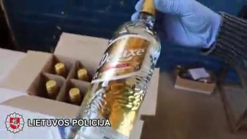Daugiau nei 5 tūkstančiai litrų degtinės atvedė šiauliečius į teismą (vaizdo įrašas)