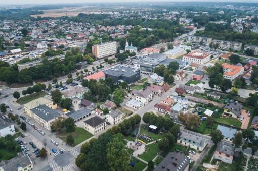 Informacija apie aplinkos orą Kėdainių mieste